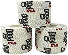 2POOD Lift Heavy Thumb Tape 3-Pack   Premium Adhesive Tape for Weightlifters   Easy Stretch & Flexible for Non-Slip Lifting (White)