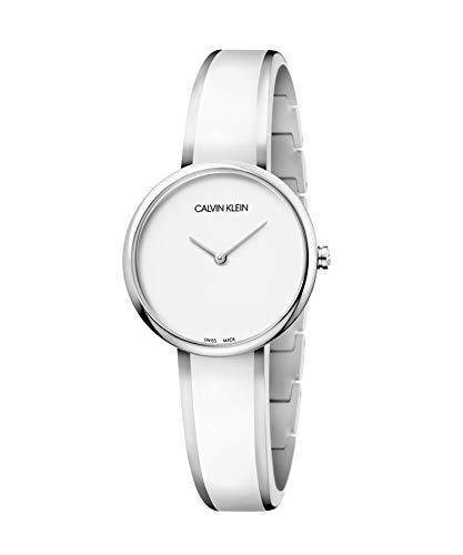 Calvin Klein Reloj Analógico para Mujer de Cuarzo con Correa en Acero Inoxidable 1