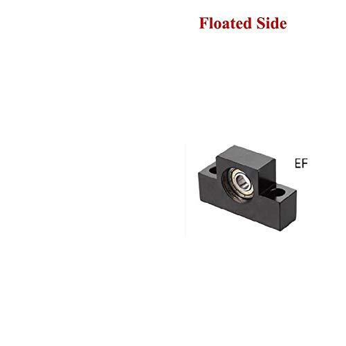 without brand Unidad 1PC BK10 BF10 BF12 BK12 BK15 BF15 FK10 FK12 FF10 FF12 FF15 FK15 EK10 EK12 EF10 EF12 Soporte for Ballscrew SFU1605 SFU1204 (tamaño : EF15)