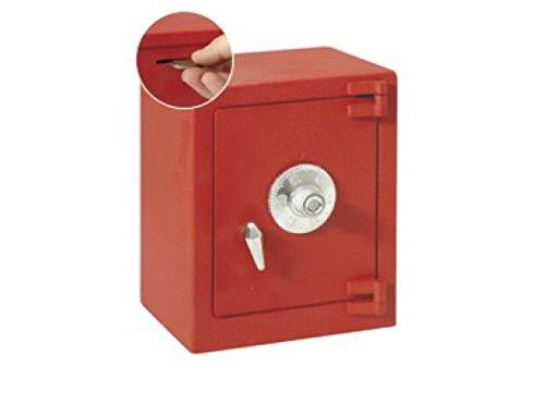 Btv - Hucha Caja Fuerte Roja 11782