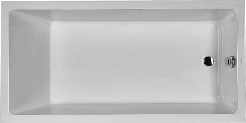 Duravit Whirlpool Starck 1800x900mm Einbauversion mit Einer Rückenschräge, Airsystem