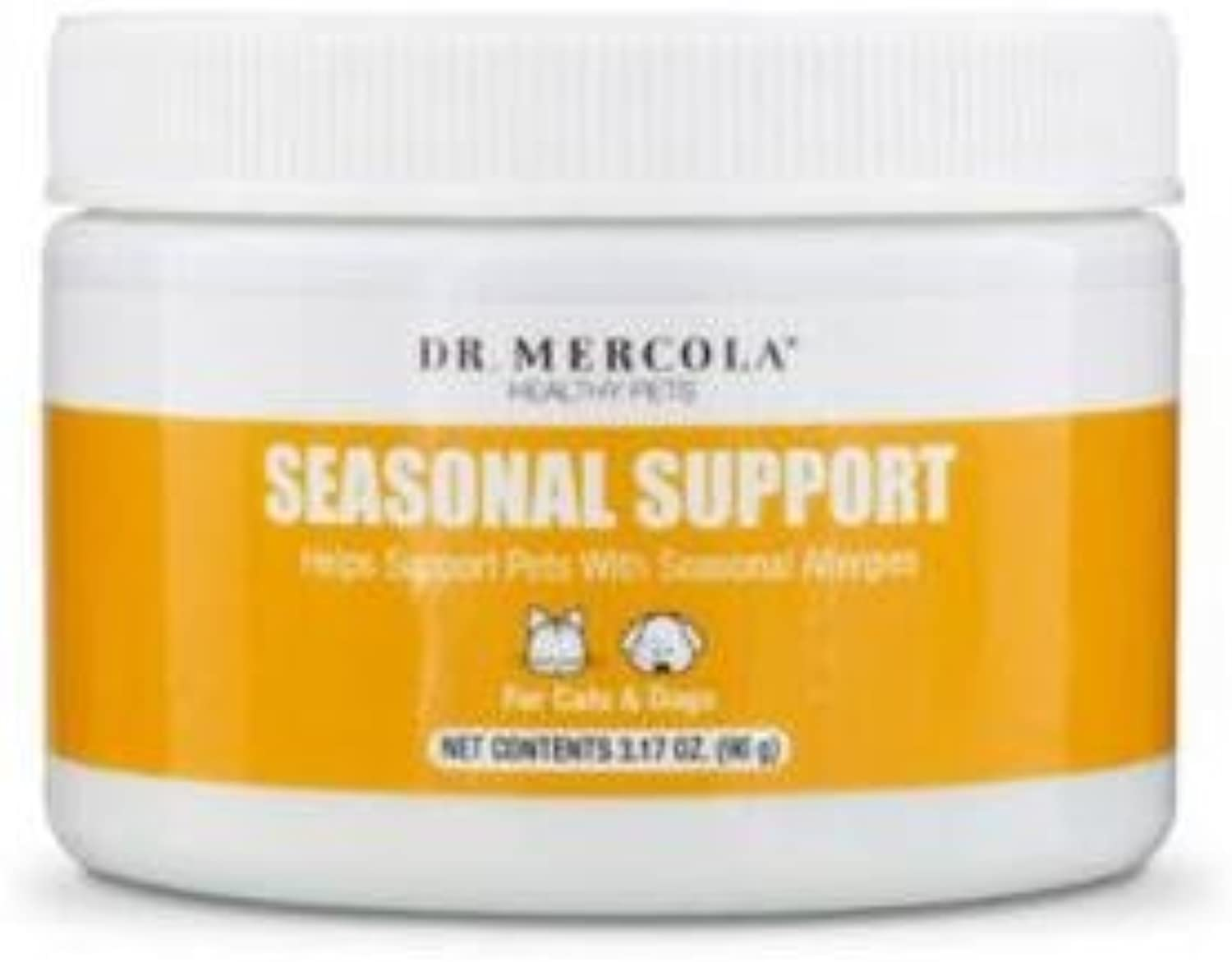 Dr Mercola seasonal Support for Dogs and Cats