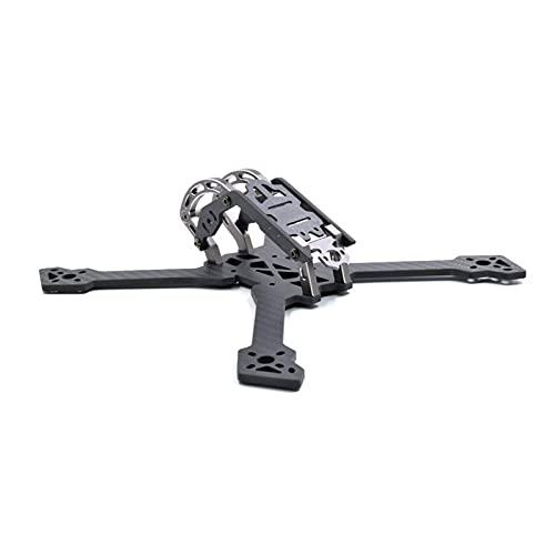 VIKEP Mark3.Qav22.5mm 250mm 239mm x Quacopter Drone Telaio Kit 4mm Bracciale 3K Full Carbon Fibra Fibra Adatta FPV.Racing Freestyle. (Color : Mark3 HB56 239mm)