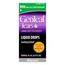 Alcon Genteal Mild Eye Drops, 0.84 Ounce