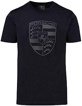 Porsche Black Crest Men s T-Shirt  Extra Large