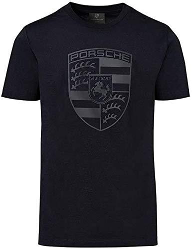Porsche Black Crest Men's T-Shirt (Large)