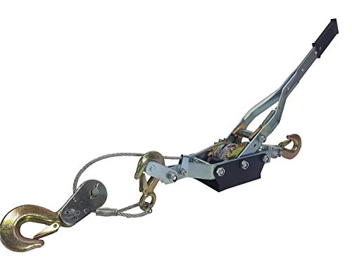 Handseilwinde M80741 Kettenwinde 4000 KG Handseilzug 4T Seilzug Handseilzug
