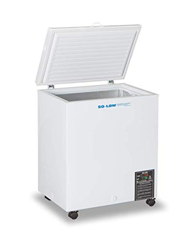 So-Low CH45-5 Lab Chest Freezer, 115V, 5 Cu. Ft, Temperature Range 0C to -45C