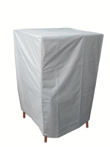 Housse de protection pour BBQ Barbecue rectangulaire avec oeillets chromés et cordelette de serrage pour fixation