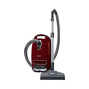 Miele 11085190 Complete C3 Cat & Dog Powerline Cylinder Vacuum Cleaner – Red