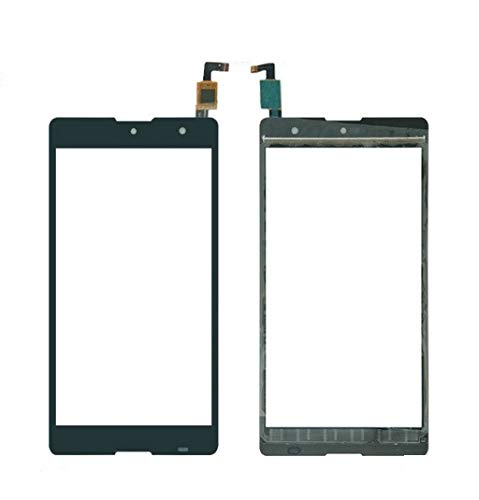 MrSpares Touch Screen digitizer Panel Part for Micromax Canvas Fire 5 Q386 : Black