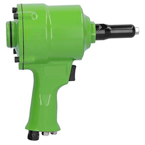 Grön lätt professionell pneumatisk spikdragpistol Luftspikningsborttagare Luftnitarverktyg Maskinsats para el entusiasmo del bricolaje(UE)