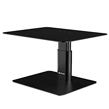 adjustable height monitor stand
