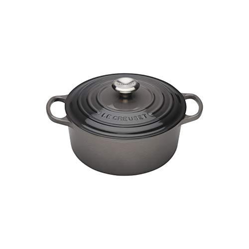 Le Creuset Enameled Cast Iron Signature Round Dutch Oven, 2 qt., Oyster