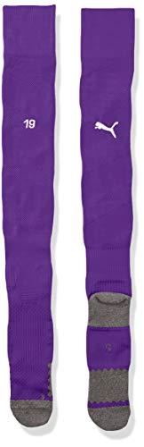 PUMA Herren Team BVB Spiral Socks Stutzen, Prism Violet White, 2