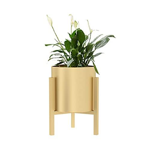 GUOXIANG Soporte para plantas de metal, soporte para flores, soporte para macetas de interior y...