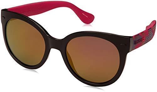 Havaianas Noronha/M Gafas de sol, Multicolor (Fuchbkdot), 52 para Mujer