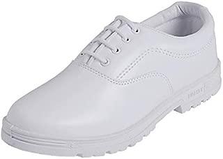 Liberty Boy's White Formal Shoes