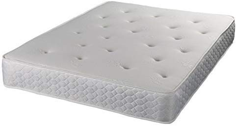 Jumpi Memory foam tufted spring mattress - 4ft small double
