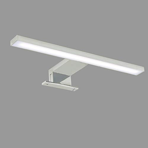 Briloner Leuchten LED Spiegelleuchte, Spiegellampe chrom, 500 Lumen, 4.000 Kelvin, IP44, Metall, 5 W, 300x103x36mm (LxBxH)