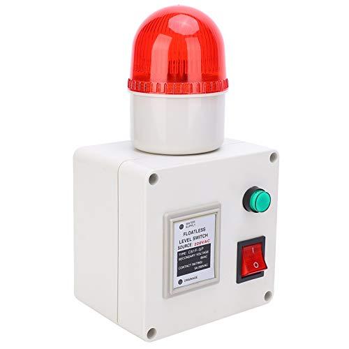 Sensor común de nivel de líquido bajo, 8V -15-60 ℃ AC220V Controlador de nivel de agua Acero inoxidable hecho