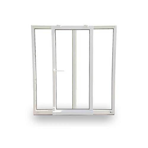 Parallelschiebekipptür - weiß - PSK Tür - 230 x 200 cm - Tür-Element Links