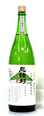 今西酒造『三諸杉 特別純米酒 山乃かみ』