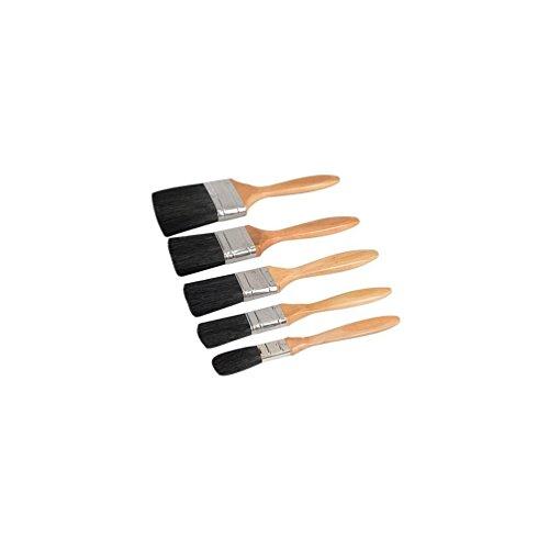 5 pezzi Set pennelli da imbianchino con setole sintetiche Silverline 282408