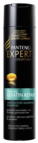 Pantene Pro V Expert Collection di riparazione cheratina Shampoo, 1er Pack (1X 250ML)