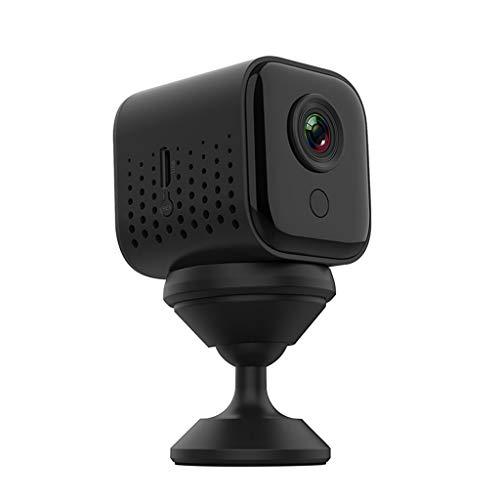 Bascar Mini Kamera, W16 Mini 1080P HD Wireless WiFi Videokamera Magnetic Remote Monitoring Webcam Indoor Heimkamera IP Kamera Nachtsicht Sport DV Erkennungs Camcorder Für Sicherheit zu Hause CCTV