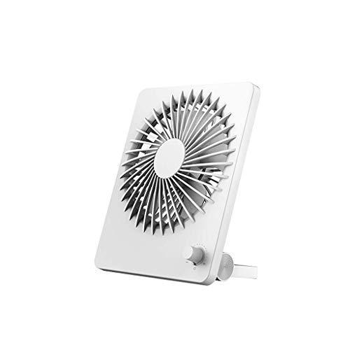 XPfj Enfriadores evaporativos Mini Ventilador USB silencioso Ajustable, Ventilador de Escritorio portátil con batería Recargable, para Oficina/Local/Viaje/Camping