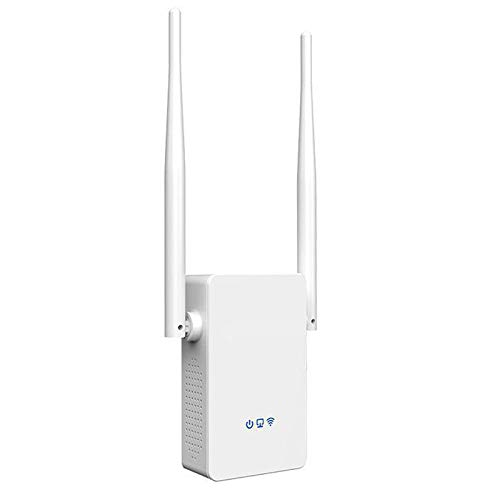Nrpfell Extensor de Rango WiFi, hasta 1200 Mbps, Repetidor WiFi de Banda Dual de 2,4 y 5 GHz Amplificador de Se?al WiFi, Admite Modo, Enchufe de EE. UU. Enchufe de la UE