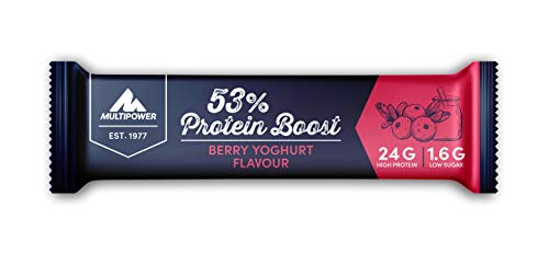 Multipower 53% Protein Boost Yogurt Ai Frutti Di Bosco 20X45G - 500 Gr