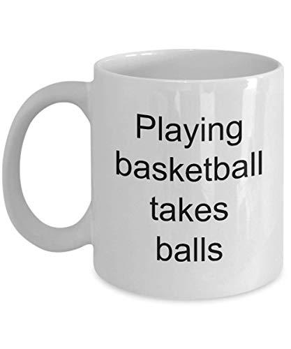 Funny Novelty Basketball Coffee Mug Surely Make Mom, Dad, Coach,...