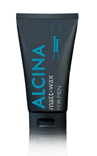 Alcina For Men Matt-Wax 75 ml Für Struktur, Halt & extra-klasse Looks mit einem seidenmatten Finish 75 ml
