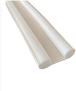 Fenteer Window Door Seal Strip EVA Wind Dust Sealer Stopper Door Weatherstrip Guard - White, 93x10cm