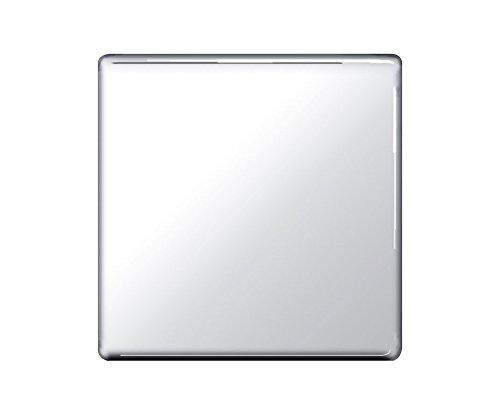 Preisvergleich Produktbild BG-Nexus-Flachplatte,  schraubenlose Flachplatte,  Einzelsteckdose,  poliertes Chrom-Finish