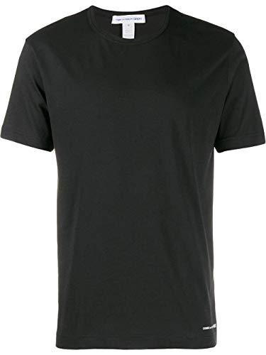 Comme des Garçons Shirt Luxury Fashion Herren W271111 Schwarz Baumwolle T-Shirt | Frühling Sommer 20