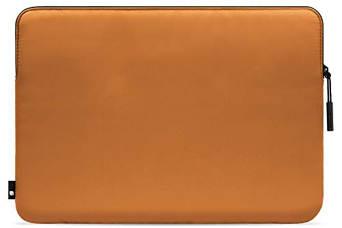 Incase Compact Sleeve in Flight Nylon for 13-inch MacBook Pro - Thunderbolt 3 (USB-C) and 13-inch MacBook Air with Retina Display - Cognac Amber