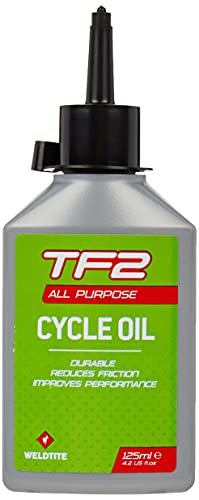 WELDTITE TF2 All Purpose Oil - Mineral Bicycle Lubricant for Bike Bearings,...