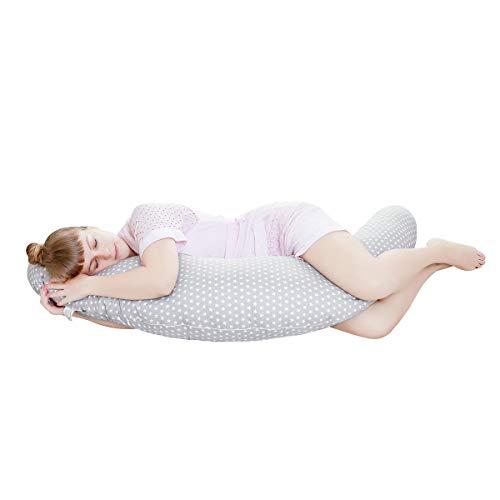 potente para casa Almohada de maternidad multifuncional Miracle Baby, almohada de lactancia desmontable y lavable, …