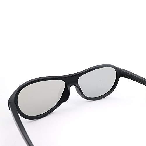 3D Glasses2Pcs Polarized Passive 3D Gafas Ag-F310 para LG Panasonic Panasonic Polarized...