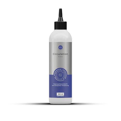 Tónico para el cabello Circulation con 2 % de Redensyl contra la caída del cabello, 250 ml, anticaída con cafeína, para hombres y mujeres