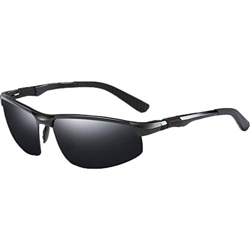 xiaohuozi Gafas de Sol Polarizadas Deportivas Al-MG Gafas de...