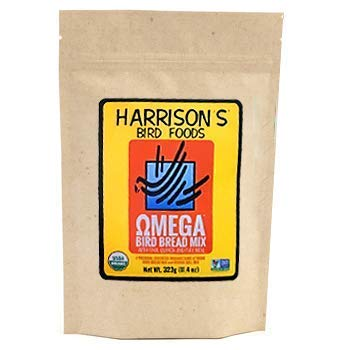 Harrison's Bird Foods Omega Bird Bread Mix