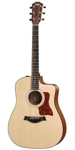 Taylor Guitars 110ce, Dreadnought, Solid Sitka Spruce, Sapele Back/Sides,...