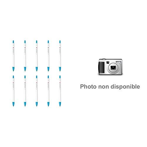 【セット買い】ゼブラ 水性ペン クリッカート ライトブルー 10本 B-WYSS22-LB & 蛍光ペン マイルドライナー 親しみマイルド色 5色 WKT7-N-5C