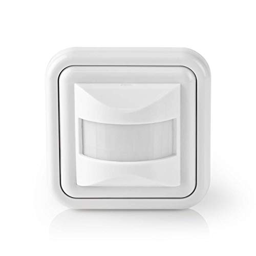 Nedis PIRII42WT Detector de Movimiento | Instalación de 2 o 3...