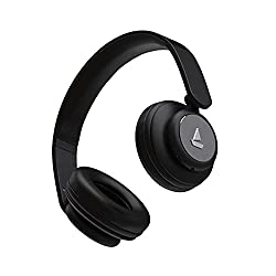 boAt Rockerz 450 Wireless Bluetooth Headphone with Up to 8H Playback, Adaptive Lightweight Design, Immersive Audio, Easy Access Controls and Dual Mode Compatibility (Luscious Black),boAt,Rockerz 450,Bluetooth Wireless head phone,Bluetooth Wireless headphones,Boat headphone,head phone,head phones Bluetooth,head phones Boat,headphones,headphones Bluetooth Wireless,headphones for mobiles,headset