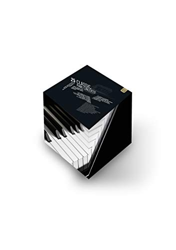25 klassische Klavierkonzerte (+ CD) [7 DVDs]